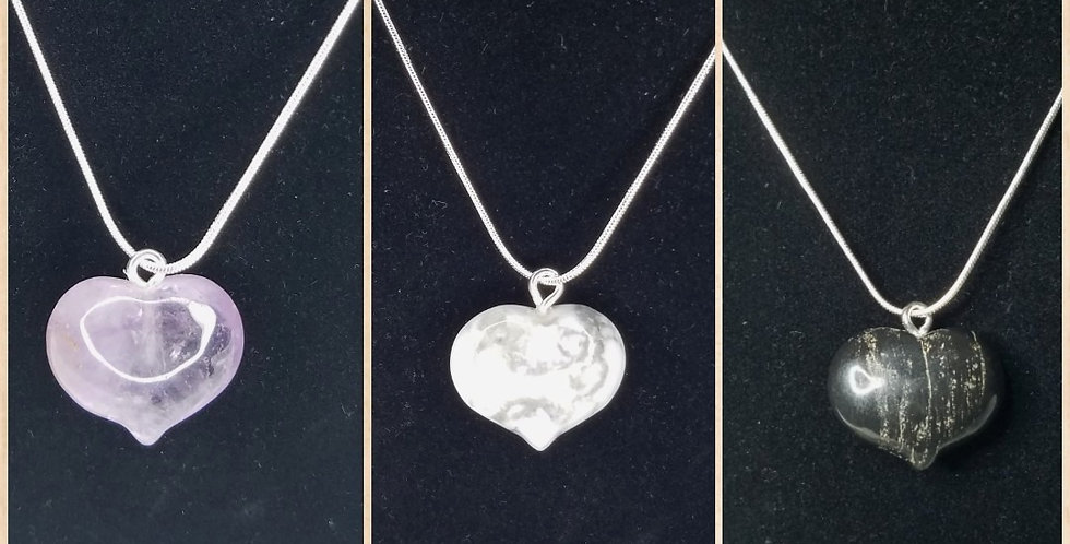 Heart Crystal Necklaces