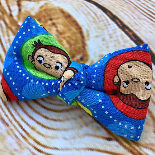 Curious George Bow Tie