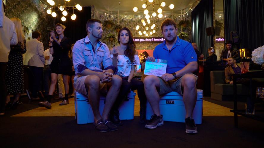 Domenica and Josh at the Delano Hotel Mi