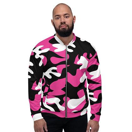 IH3 Pink Camo Bomber Jacket
