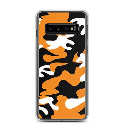 IH3 Orange Camo Samsung Case
