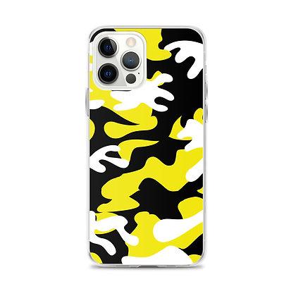 IH3 Yellow Camo iPhone Case