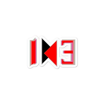IH3 Glitch-Logo Sticker