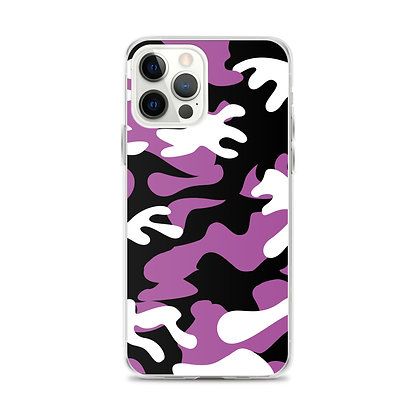 IH3 Purple Camo iPhone Case