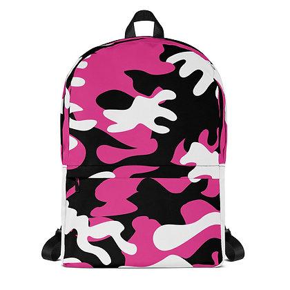 IH3 Pink Camo Backpack