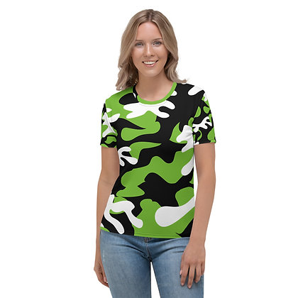 IH3 Women's Green Camo Tee