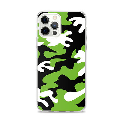 IH3 Green Camo iPhone Case