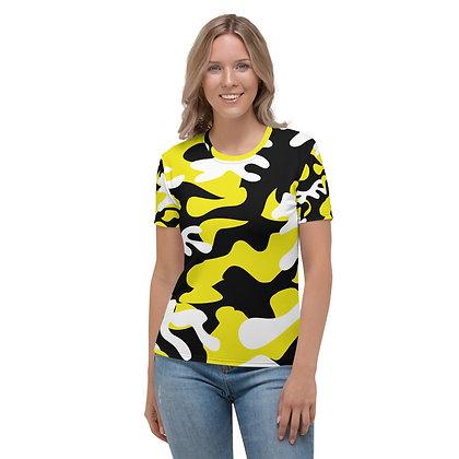 IH3 Women's Yellow Camo Tee