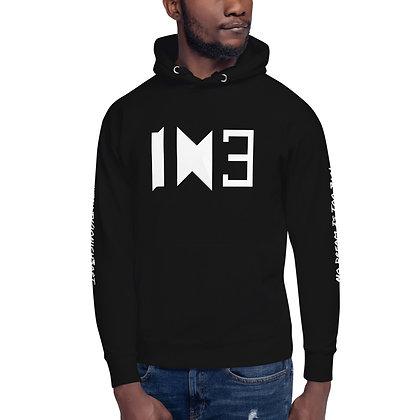 IH3 Black/White Hoodie