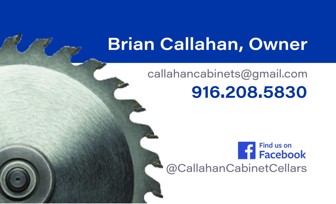 Callahan Business Card