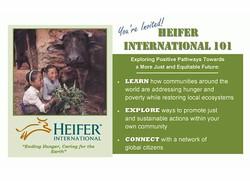 Heifer International Flyer