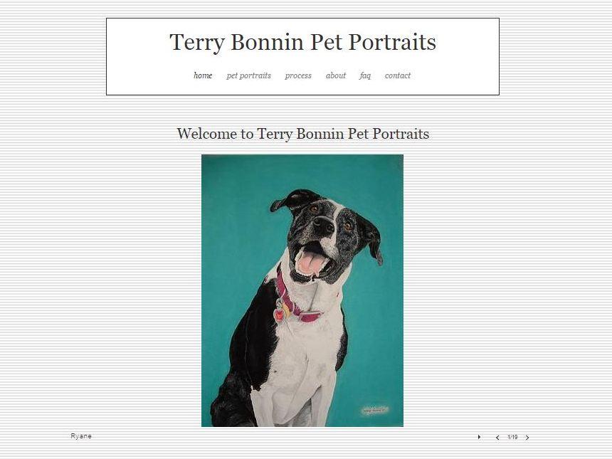 Bonnin Pet Portraits Home Screen