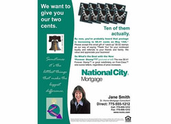 National City Mortgage Flyer