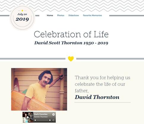 David Memorial Site