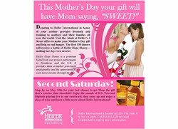 Mother's Day Ad for Heifer Int'l