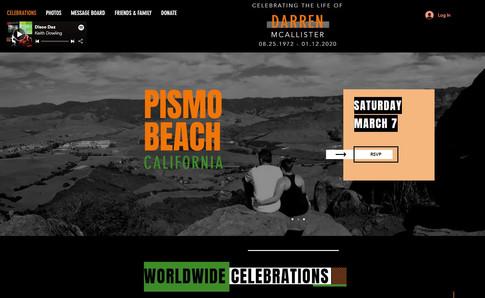 Darren Memorial Site