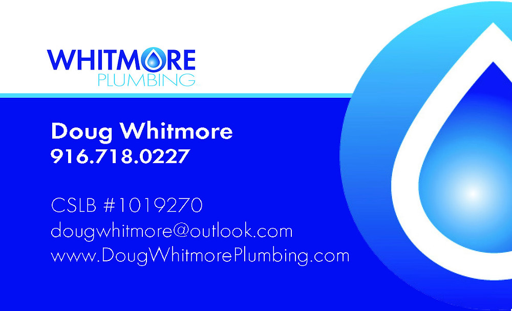 Whitmore Plumbing Business Card