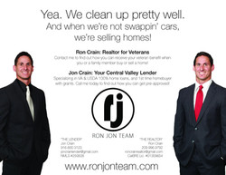 Magazine ad for Ron Jon Team