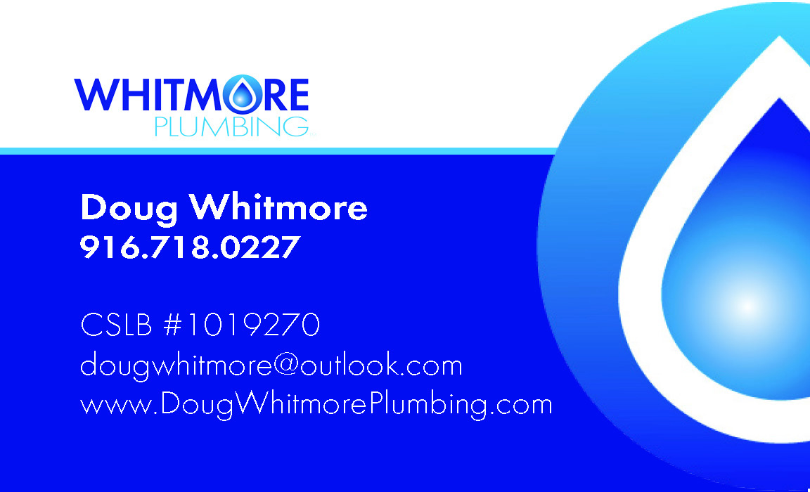 Whitmore Plumbing Business Card
