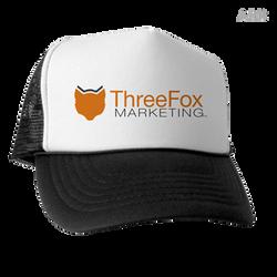 ThreeFox Marketing Trucker Hat