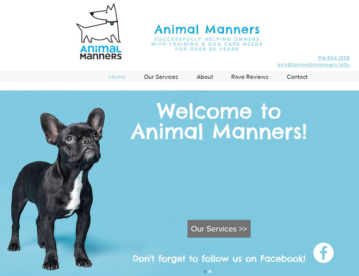 Animal Manners Home Screen