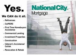 National City Mortgage Postcard