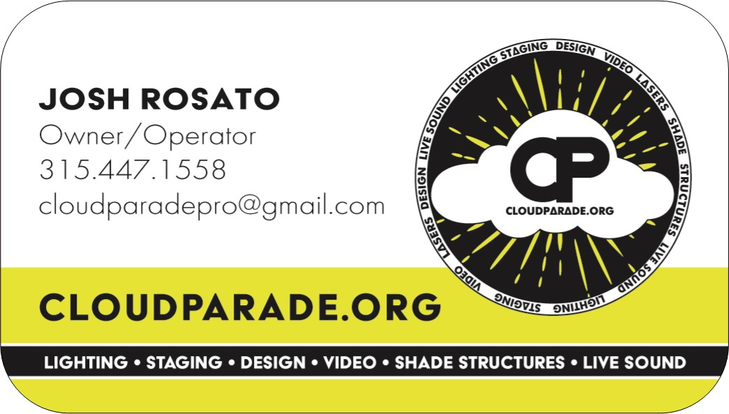 Cloud Parade Business Card