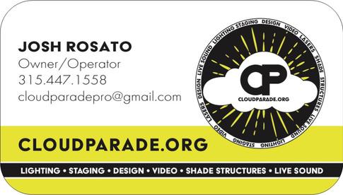 Cloud Parade Pro Business Card