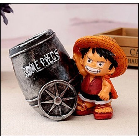 Luffy Pen Cup - Silver