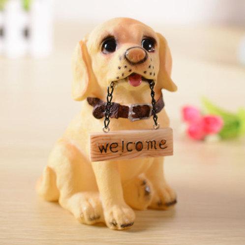 Welcome Dog - Yellow