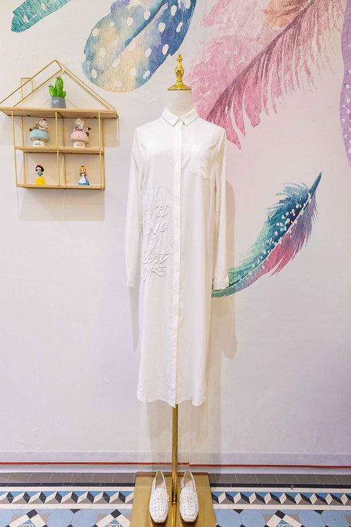 YANIDISI- Embroidered Long Shirts