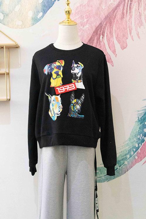 D.TWO Sweatshirt - Black