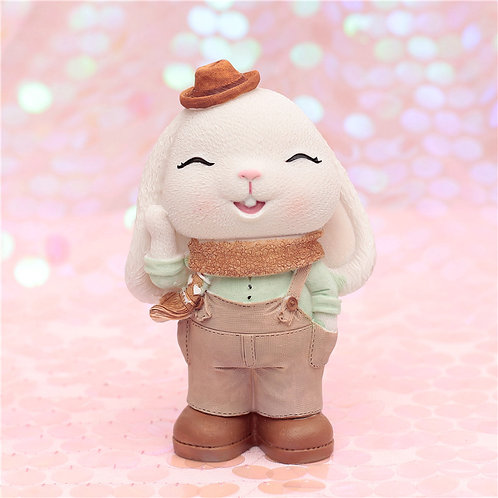 Annie Bunny Money Box - Boy