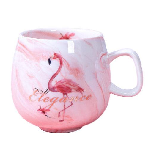 Flamingo Ceramic Cup
