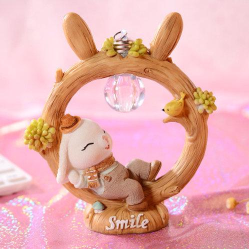 Annie Bunny Night Light - Boy