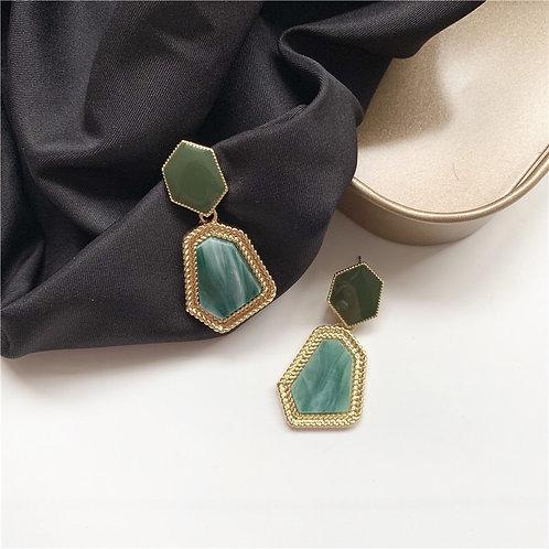 Geometric Polygon Earring