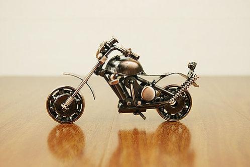Wrought Iron Motorcycle Model