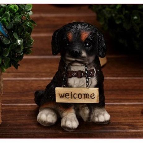 Welcome Dog - Black