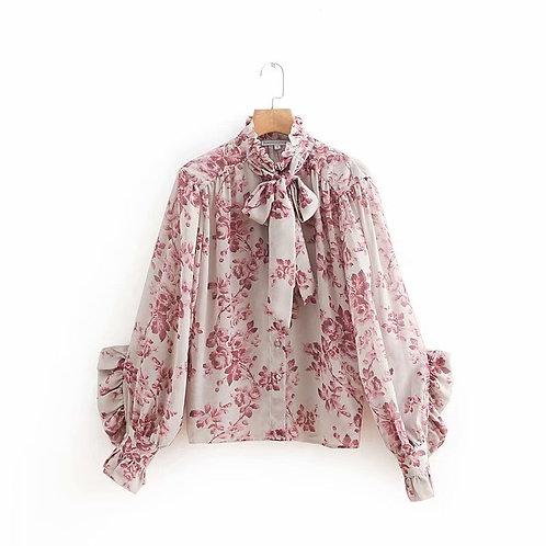 LE CHIC Floral Shirt