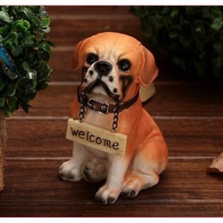 Welcome Dog - Orange