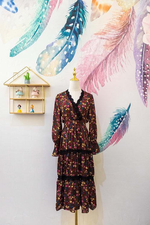D.TWO Floral Dress