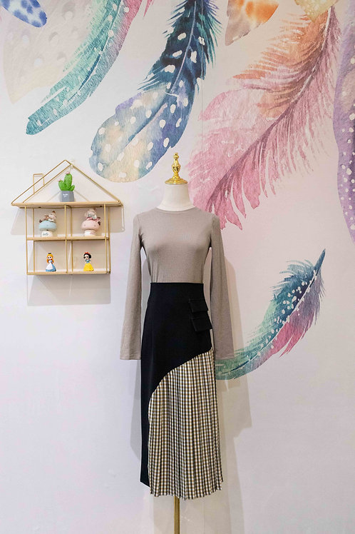 D.TWO Pleated Skirt