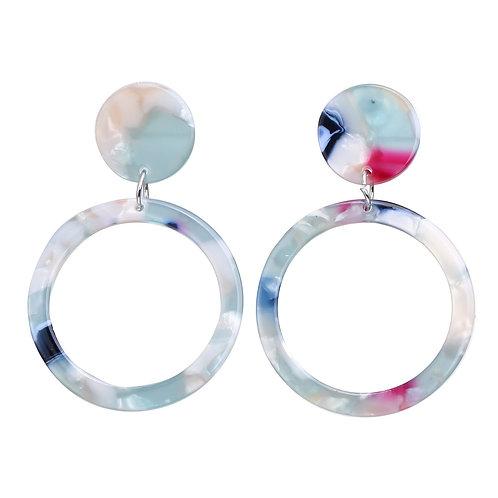 Color Acrylic Earring