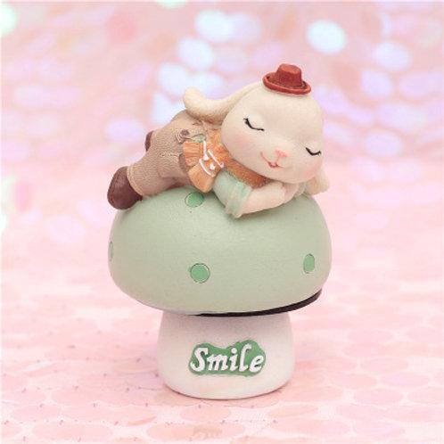 Annie Bunny Music Box - Boy