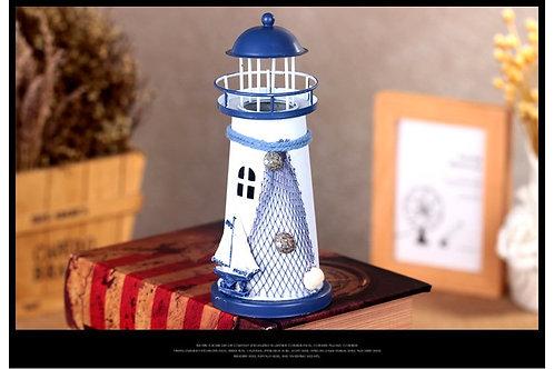Wrought Iron Lighthouse Model