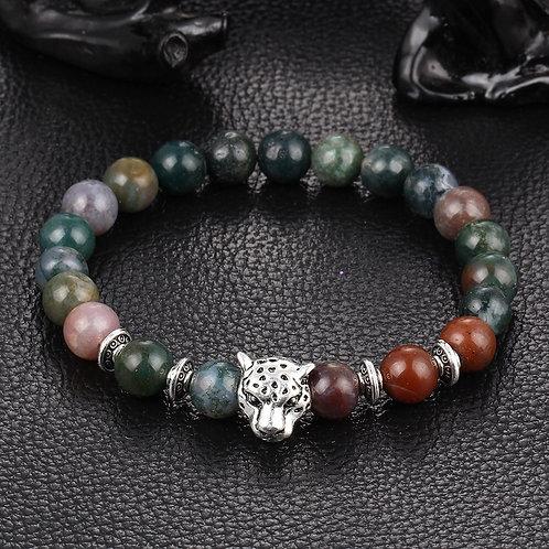 Leopard Bead Bracelet - Mixed Colour