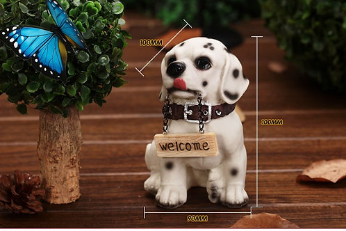 Welcome Dog - White