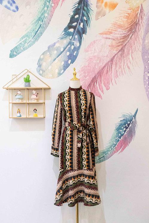 D.TWO Fishtail Midi Dress