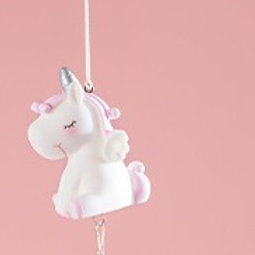 Wind Chime - Pink Unicorn