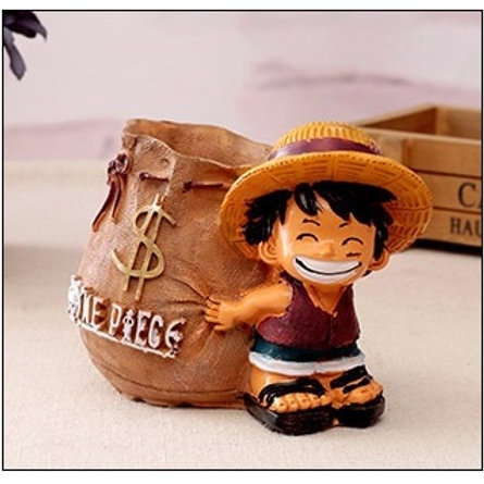 Luffy Pen Cup - Yellow